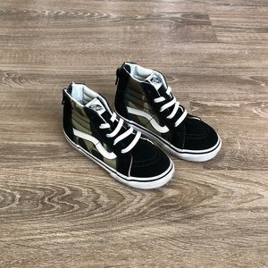 Vans Old Skool Camo Hi Top Toddler Sneakers